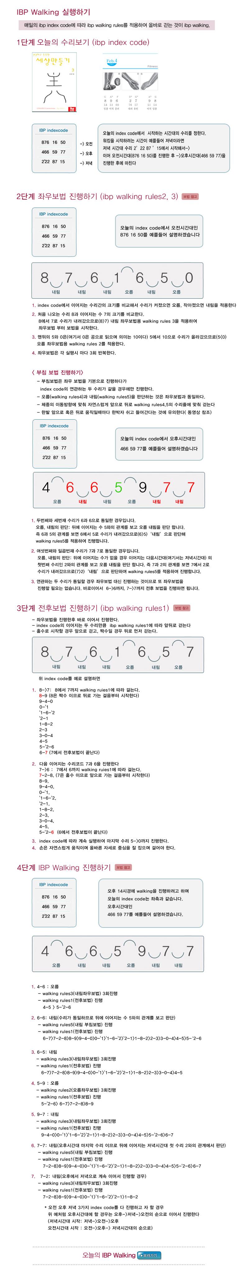IBP WALKING
